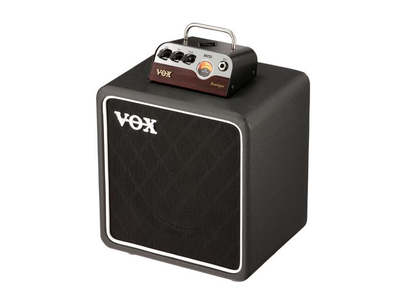 VOX 新真空管Nutube搭載 MV50 Boutique SET ギターアンプ ヘッド&キャビネットセット MV50-BQ-SET