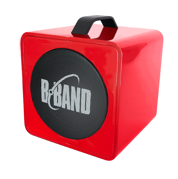 B-Band/AC45J Red Portable Acoustic Amplifier 充電式 ポータブルアンプ