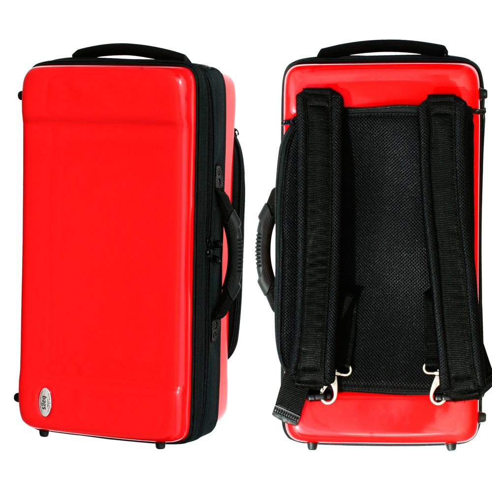 bags(バッグス) トランペット2本用ファイバーケース EC2TRM RED