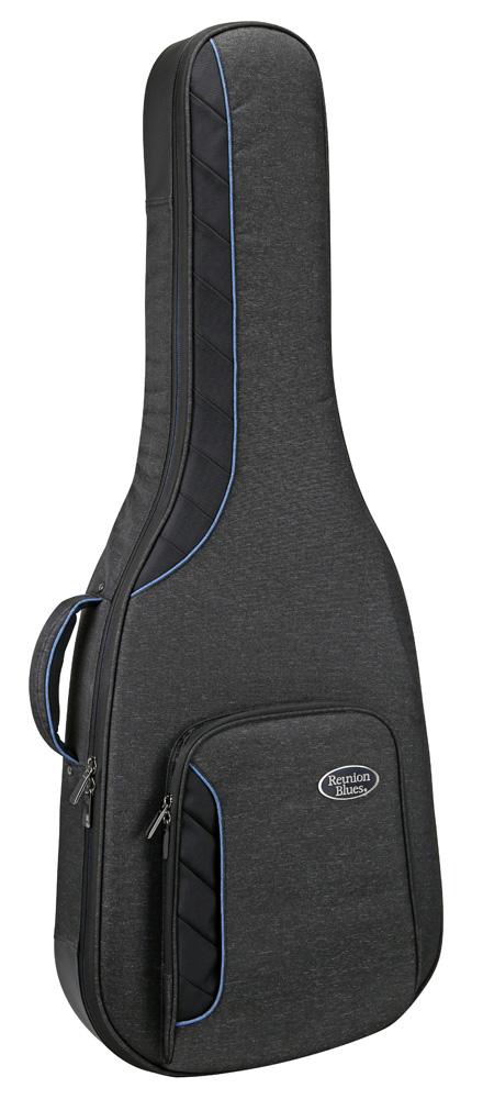 Reunion Blues RBC-SH RB Continental Voyager Semi Hollow Electric Guitar Case