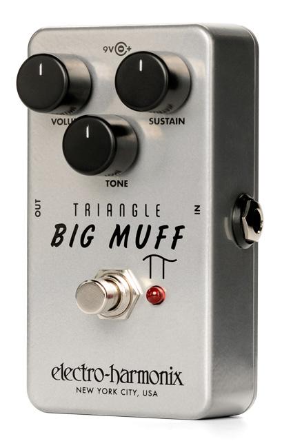 electro harmonixTriangle Big Muff Pi ディストーション