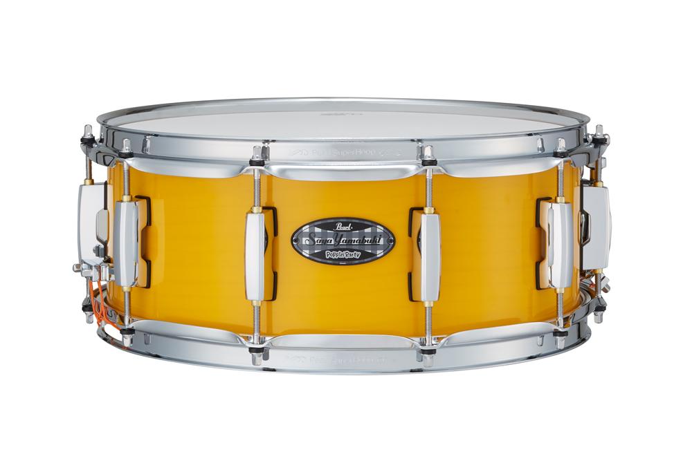"Pearl パール MCT1455S/C-SAYA Signature Snare Drum ""山吹沙綾"" Model 【スネアケース付き】"