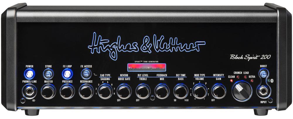 Hughes&Kettner HUK-BS200/UPACK) Black Spirit 200 本体+キャリーバック(HUK-BS200/BAG)+Xviveワイヤレス(XV-U2/BLブルー)