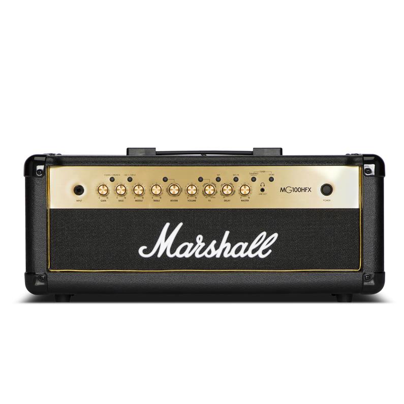 Marshall (マーシャル) MG100HFX 4CHプログラマブル/100W出力/デジタルエフェクト搭載 アンプヘッド