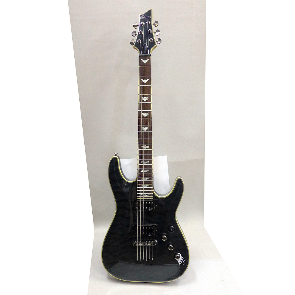 Schecter(シェクター) エレキギター AD-OM6-EXT/STBK AD-OM6-EXT/STBK エレキギター ソフトケース付き, トイたまご ハンプティダンプティ:c00888c5 --- sunward.msk.ru