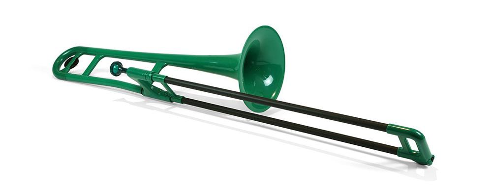 plnstruments pBone(ピー・ボーン)プラスチック製B♭テナートロンボーン PBONE1G/GREEN