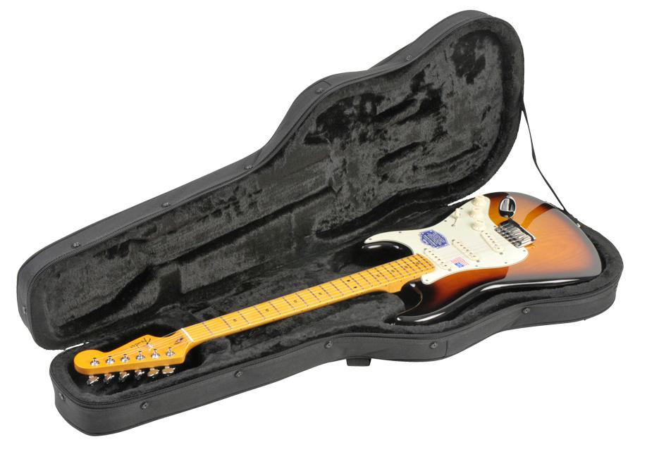 SKB SKB-SCFS6 Black エレキギター シェイプドギター用 セミハードケース