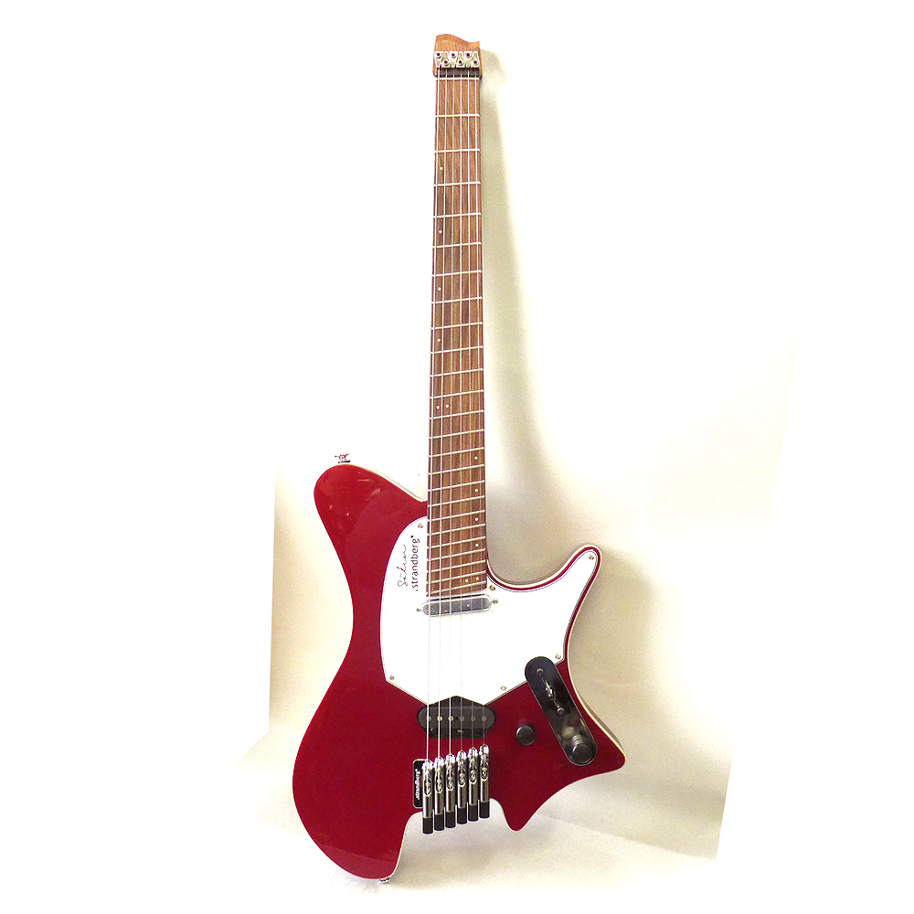 Strandberg Salen Deluxe Candy Apple Red エレキギター ストランドバーグ 【ギグバック付き】