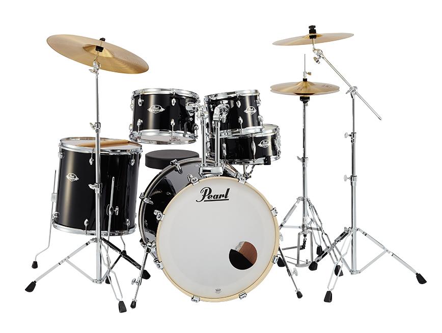 Pearl(パール) Exportのドラムセット Export EXX725S/C #31 Jet Black