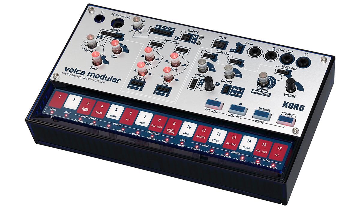 KORG マイクロ・モジュラー・シンセサイザー volca modular ヴォルカ・モジュラー VOLCA-MODULAR