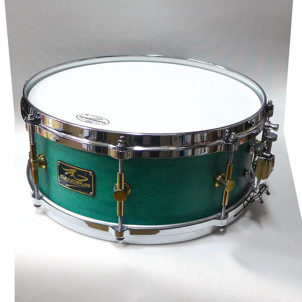 CANOPUS Turquoise MO-1455 oil Maple Turquoise oil カノウプス スネアドラム (ケースサービス) (ケースサービス), 抱かれ枕の眠り製作所:d2333d32 --- ww.thecollagist.com