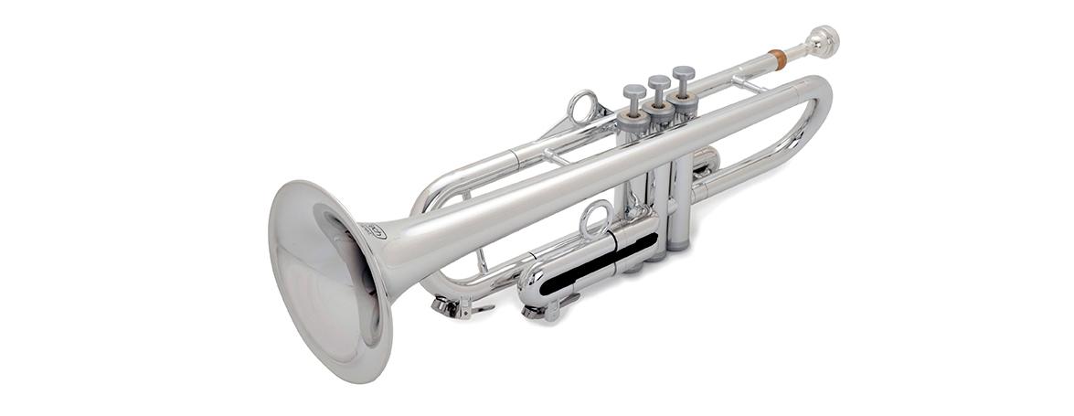 pInstruments ピーインストゥルメンツ プラスチック製管楽器 B♭トランペット pTrumpet hyTech シルバー PTRUMPET1HTG (キャリーバッグ付属) 【国内正規品】