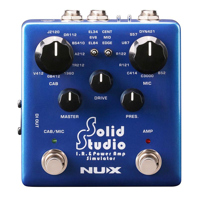 NUX Solid Studio IR & パワーアンプシミュレーター ギターエフェクター