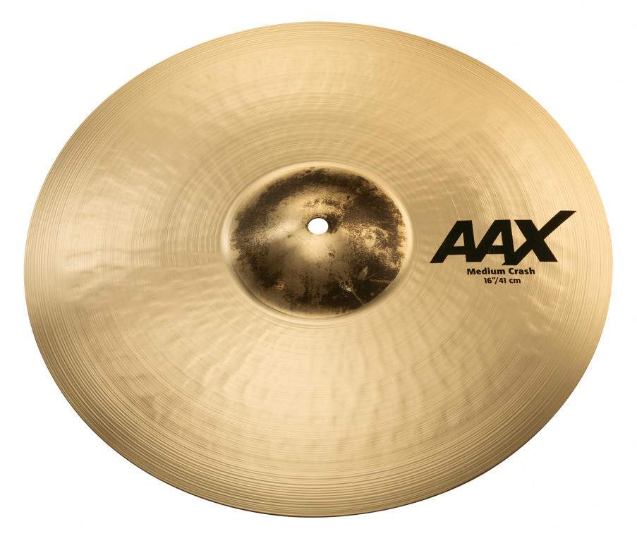 Sabian AAX REVAMP 2019 MEDIUM CRASH (Brilliant)AAX-16MC-B 16