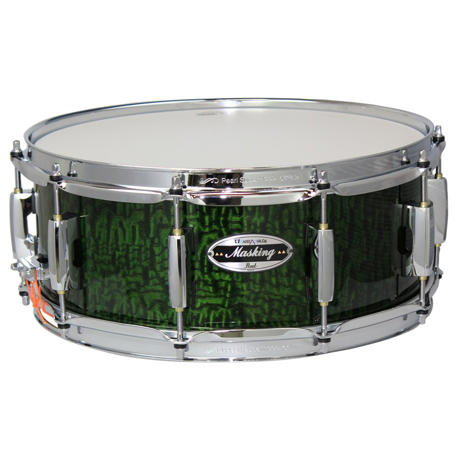 """Pearl x BanG Dream! Collaboration Snare Drum """"MASKING"""" Model MCT1455S/C-NM ソフトケース付属"""