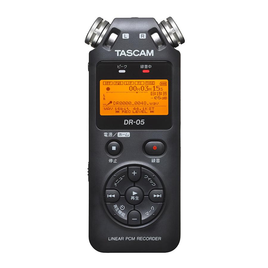 TASCAM DR-05 VER3 リニアPCMレコーダー