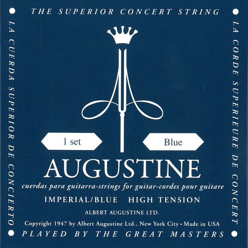 Augustine IMPERIAL/Blue クラシックギター弦 を 12set