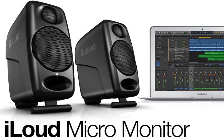 IK Multimedia リファレンス・モニター iLoud Micro Monitor Black 1ペア