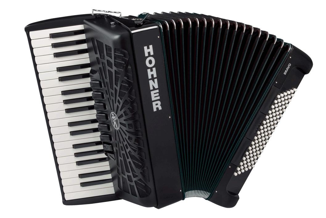 Hohner クロマチック・ピアノキー Bravo III 96 黒