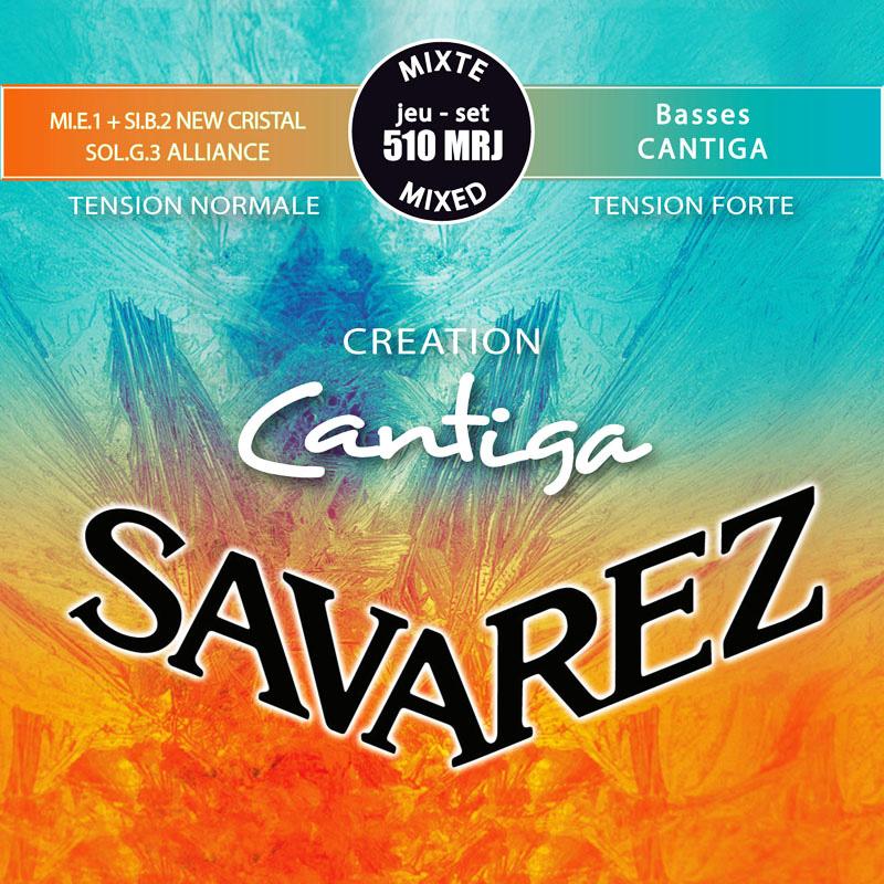 SAVAREZ クリエイション・カンティーガ Mixed tension 510MRJ (Set) を 12set サバレス クラシックギター弦