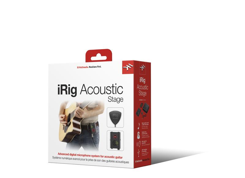 IK Multimedia iRig Acoustic Stage アコースティックギター用 ピックアップ