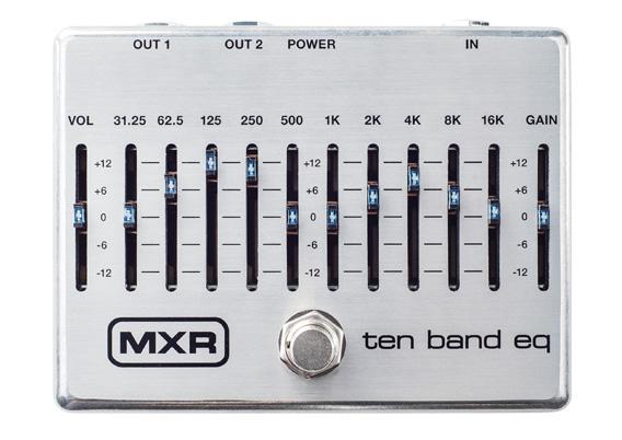 MXR M108S 10 Band Graphic EQ イコライザー