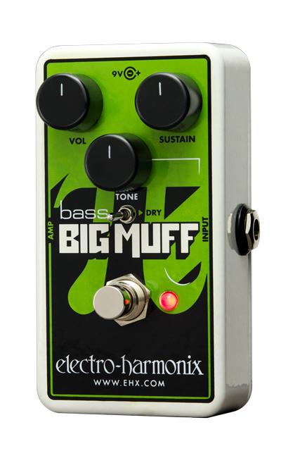 electro harmonix Nano Bass Big Muff Pi ベース・ディストーション