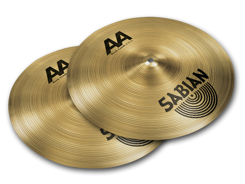"Sabian AA Rock Crash Twin Pac AA-16RC/TWP 16""x2枚セット"