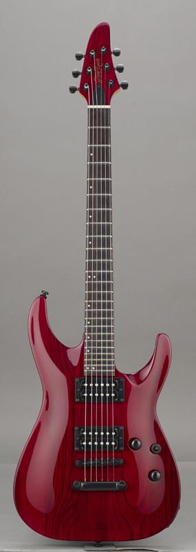 GrassRoots(グラスルーツ) エレキギター G-HR-42NT/BSTR BSTR(Burner See Thru Red)オリジナル猫ピック6枚サービス