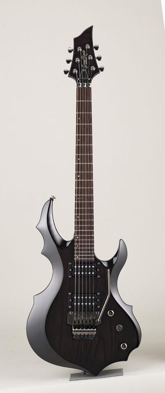 GrassRoots(グラスルーツ) エレキギター G-FR-62GT/STBK STBK(See Thru Black)オリジナル猫ピック6枚サービス