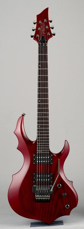 GrassRoots(グラスルーツ) エレキギター G-FR-62GT/STR STR(See Thru Red)オリジナル猫ピック6枚サービス