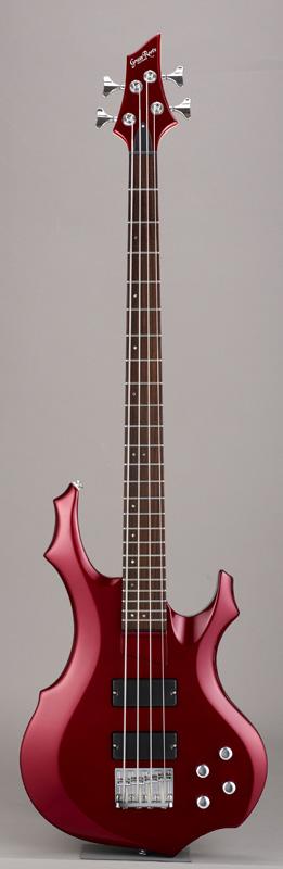 GrassRoots(グラスルーツ) エレキギター G-FR-52B (34inch)/CAR CAR(Candy Apple Red)オリジナル猫ピック6枚サービス