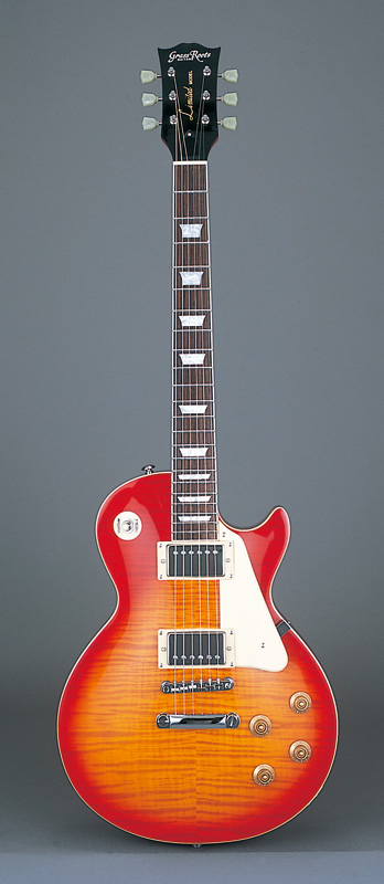 GrassRoots(グラスルーツ) エレキギター G-LP-60S/CHS CHS(Cherry Sunburst)オリジナル猫ピック6枚サービス