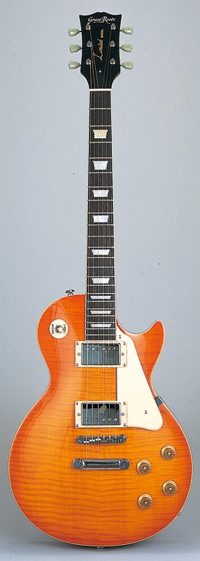 GrassRoots(グラスルーツ) エレキギター G-LP-60S/HS HS(Honey Sunburst)オリジナル猫ピック6枚サービス