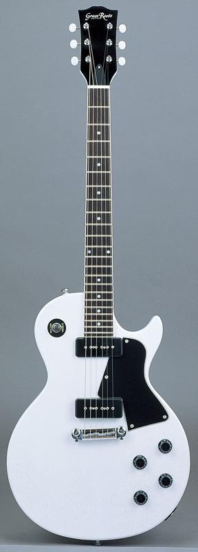 GrassRoots(グラスルーツ) エレキギター G-LS-57/BLD BLD(Blond)オリジナル猫ピック6枚サービス
