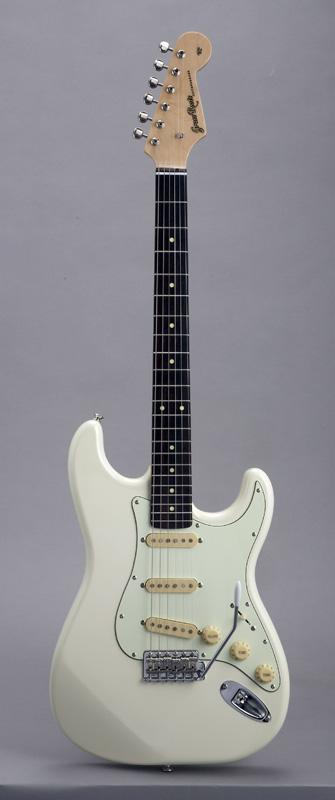 GrassRoots(グラスルーツ) エレキギター G-SE-50R/VW VW(Vintage White)オリジナル猫ピック6枚サービス
