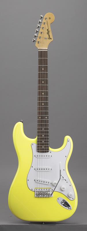 GrassRoots(グラスルーツ) エレキギター G-SE-50R/Y Y(Yellow)オリジナル猫ピック6枚サービス