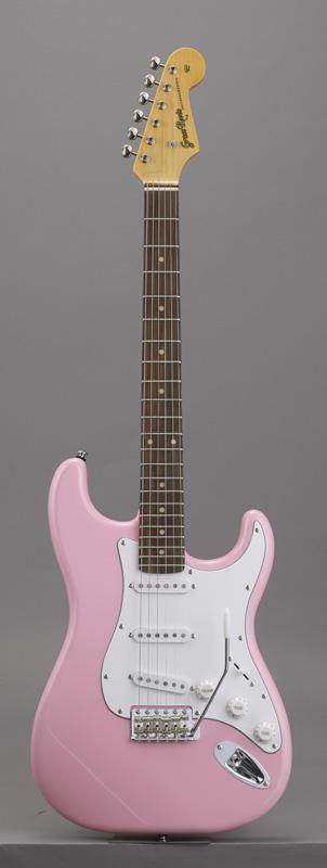 GrassRoots(グラスルーツ) エレキギター G-SE-50R/PINK PINK(Pink)オリジナル猫ピック6枚サービス