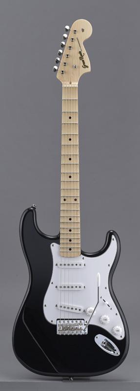GrassRoots(グラスルーツ) エレキギター G-SE-58M/SC BK BK(Black)オリジナル猫ピック6枚サービス