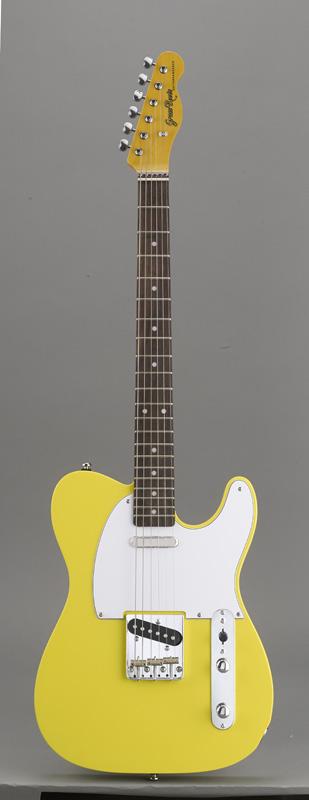 GrassRoots(グラスルーツ) エレキギター G-TE-50R/Y Y(Yellow)オリジナル猫ピック6枚サービス
