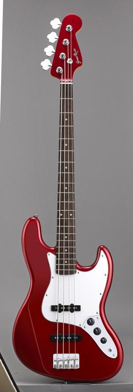 GrassRoots(グラスルーツ) エレキギター G-JB-55R/CAR CAR(Candy Apple Red)オリジナル猫ピック6枚サービス