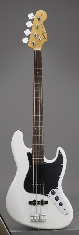 GrassRoots(グラスルーツ) エレキギター G-JB-55R/SW SW(Snow White)オリジナル猫ピック6枚サービス