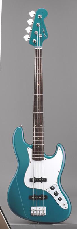 GrassRoots(グラスルーツ) エレキギター G-JB-55R/LPB LPB(Lake Placid Blue)オリジナル猫ピック6枚サービス