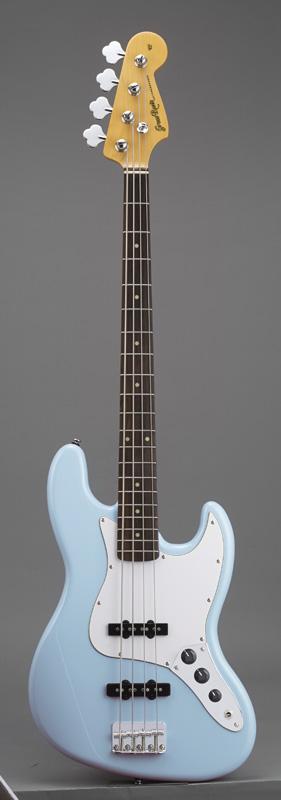 GrassRoots(グラスルーツ) エレキギター G-JB-55R/SOB SOB(Sonic Blue)オリジナル猫ピック6枚サービス