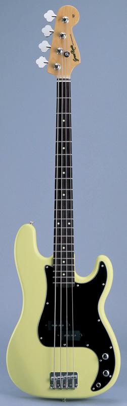 GrassRoots(グラスルーツ) エレキギター G-PB-55R/VW VW(Vintage White)オリジナル猫ピック6枚サービス