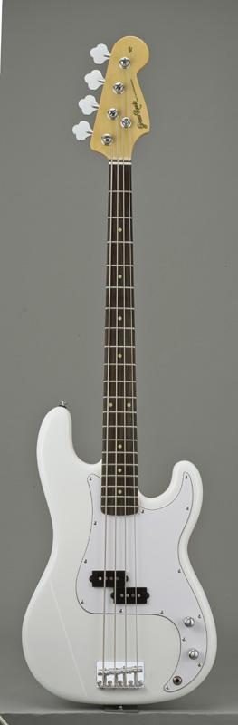 GrassRoots(グラスルーツ) エレキギター G-PB-55R/SW SW(Snow White)オリジナル猫ピック6枚サービス