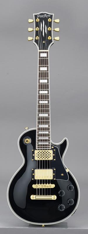 GrassRoots(グラスルーツ) エレキギター G-LPC-MINI/BK BK(Black)オリジナル猫ピック6枚サービス