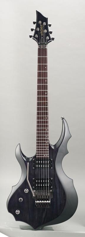 GrassRoots(グラスルーツ) エレキギター 左利き用 G-FR-62GT-LH/STBK STBK(See Thru Black)オリジナル猫ピック6枚サービス