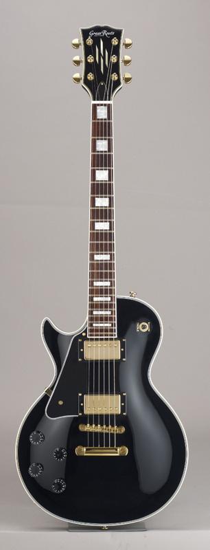 GrassRoots(グラスルーツ) エレキギター 左利き用 G-LP-60C-LH/BK BK(Black)オリジナル猫ピック6枚サービス