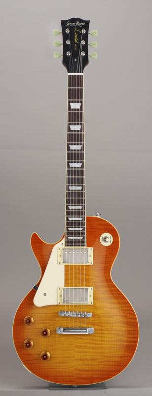 GrassRoots(グラスルーツ) エレキギター 左利き用 G-LS-60S-LH/HB HB(Honey Sunburst)オリジナル猫ピック6枚サービス